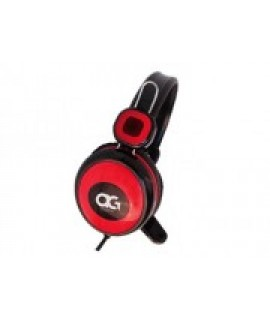 Anitech (GH200-RD) Stereo headphone Double jack 3.5mm jack Driver unit 50mn, max input 6