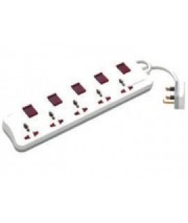 Mutisocket Outlets X 5